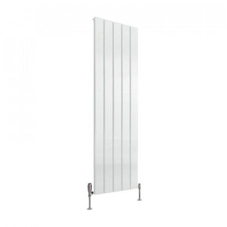 Reina Stadia Single Panel Radiator 1800 x 415mm Aluminium White