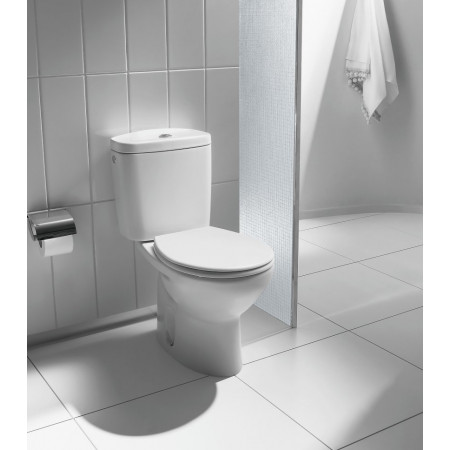 STY-Roca Laura Close Coupled Open Back WC Pan & Cistern-2