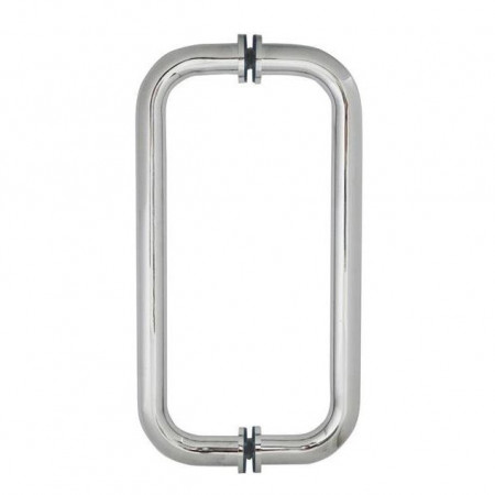 Roman Decem Hinged Door & Inline Panel 1000mm Alcove Fitting Curved Hardware