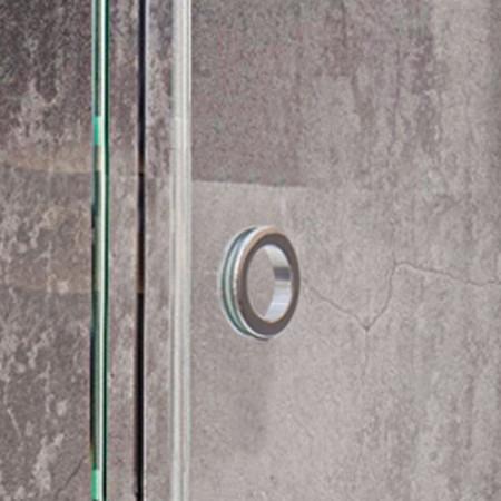 Roman Decem Sliding Door 1200 X 900mm Corner Fitting with Finger Pull Handle (Right Hand)