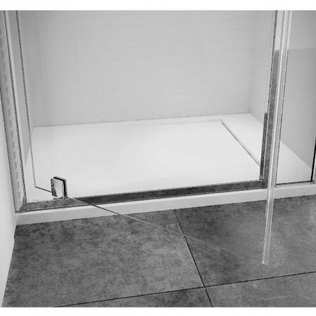 Roman Haven8 Pivot Shower Door Opening