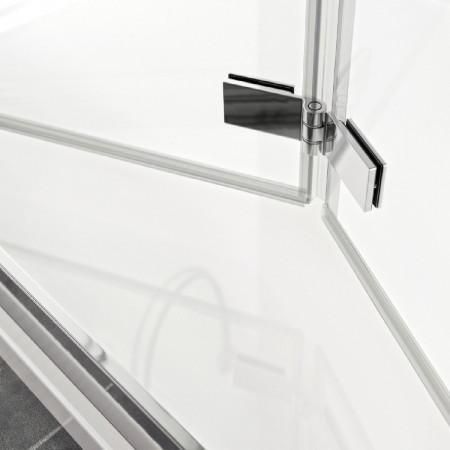 Roman Haven8 1000mm Bifold Shower Door Hinges Door Opening