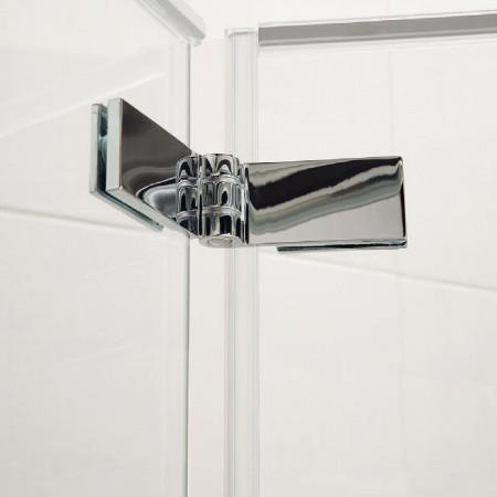 Roman Haven8 1000mm Bifold Shower Door Hinges Silver Finish