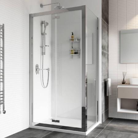 Roman Haven8 1000mm Bifold Shower Door Corner Fitting