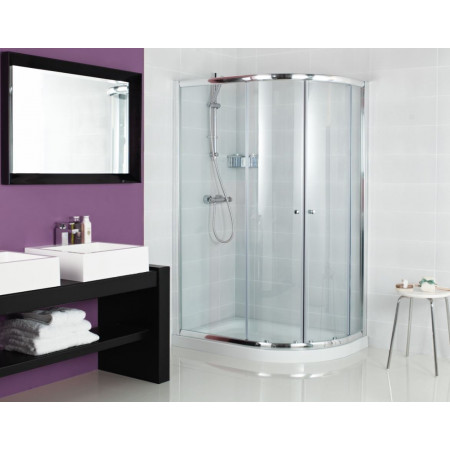 Roman Haven 800 X 900mm Offset Quadrant Shower Enclosure