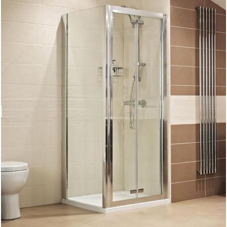 Roman Lumin8 900mm Bifold Shower Door