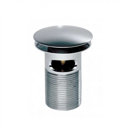 Roper Rhodes Chrome plated dome top spring Basin waste slotted