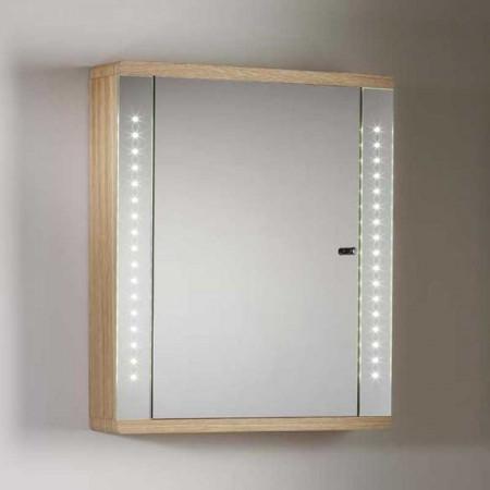 Roper Rhodes Sensory Instinct Oak Finish LED Cabinet