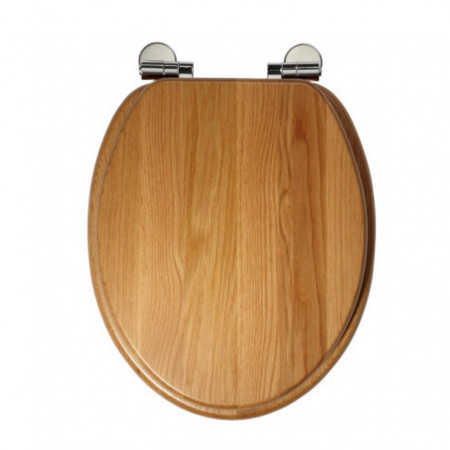 Roper Rhodes Traditional Toilet Seat, natural oak