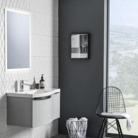 Roper Rhodes Ultra Slim 500 x 700mm LED Illuminated Mirror