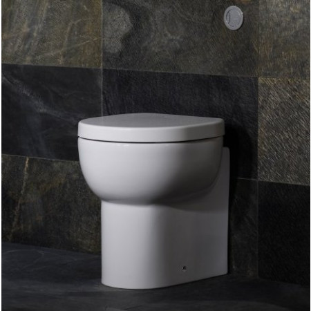 Roper Rhodes Zest Back To Wall Pan with Zest Soft Close Seat