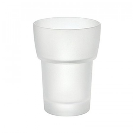 Smedbo Loft Spare Frosted Glass Tumbler