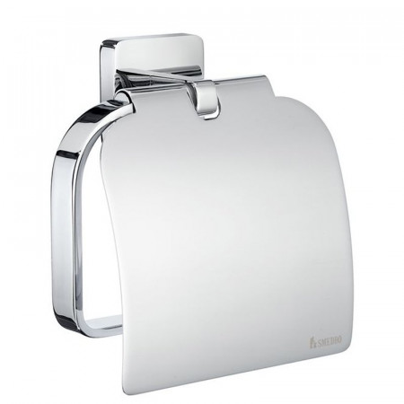 Smedbo Ice Toilet Roll Holder With Lid