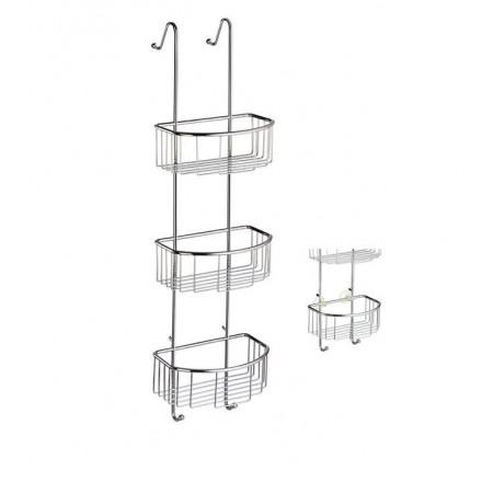 Smedbo Sideline Triple Shower Basket DK1046