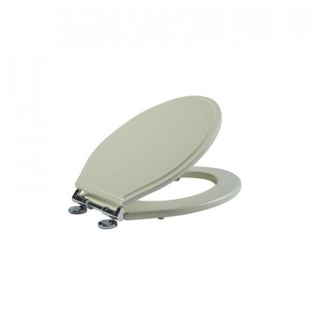 S2Y-Tavistock Linen White Wooden Toilet Seat-2