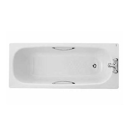 Twyford Celtic Steel Bath1600 x 700mm inc Grips and Legs