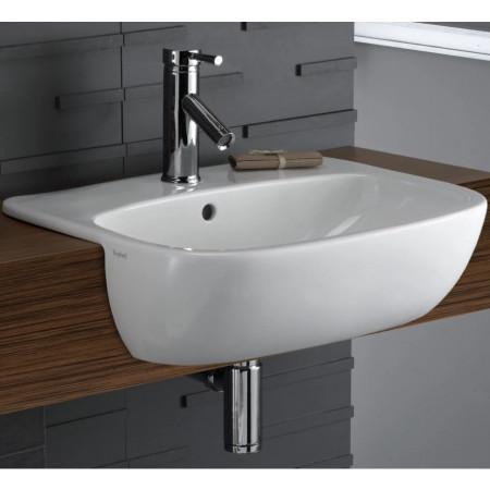 Twyford Moda 550 Semi-recessed basin