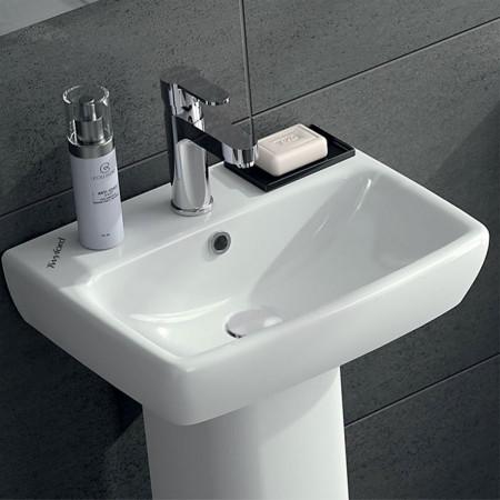Twyford e100 square basin