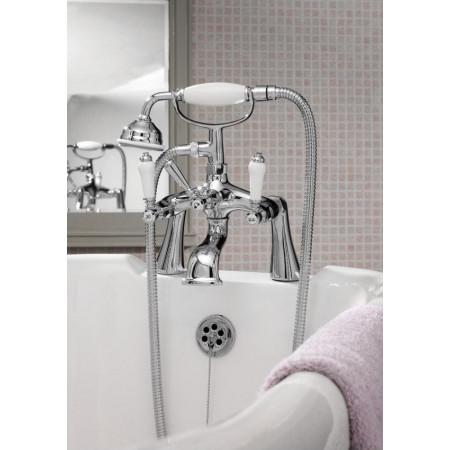 Premier Bloomsbury Lever Bath Shower Mixer  life