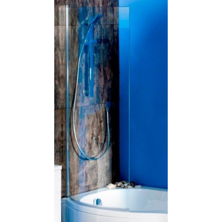Ajax Curved P Bath Screen