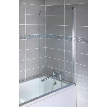Ajax Round Top 800mm Bath Screen