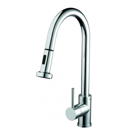 Bristan Apricot Kitchen Sink Mixer with Pull Out Spray