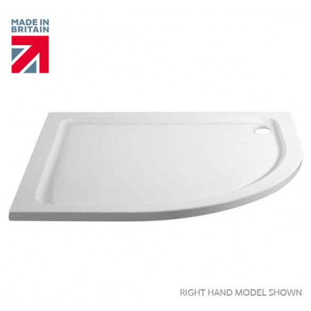 April Identiti2 Offset Double Door Quadrant Shower Enclosure 900mm x 760mm