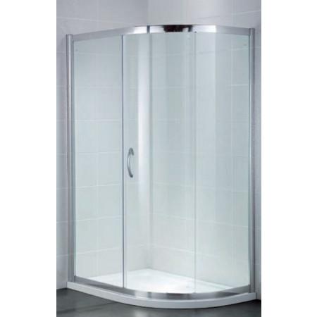 April Identiti2 Single Door Quadrant 1000mm x 800mm