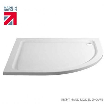 April Identiti2 Single Door Quadrant 1200mm x 900mm
