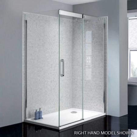 April Prestige2 Frameless 1400mm Sliding Shower Door