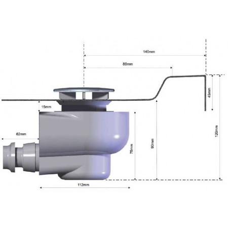 Aquadart AQ630 Fast Flow Waste