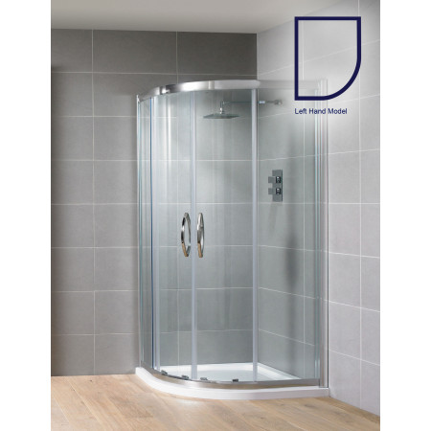 Aquadart Venturi 8 1000x800mm Double Door Offset Quadrant Shower Enclosure