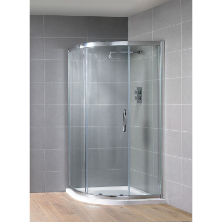 Offset Quadrant Shower Enclosure 1200mm X 900mm