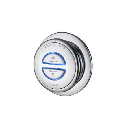 Aqualisa Quartz Concealed digital shower with adjustable head and bath fill Combi High Pressure