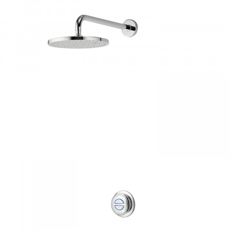 Aqualisa Quartz Digital concealed with fixed head Gravity QZD.A2.BR.14