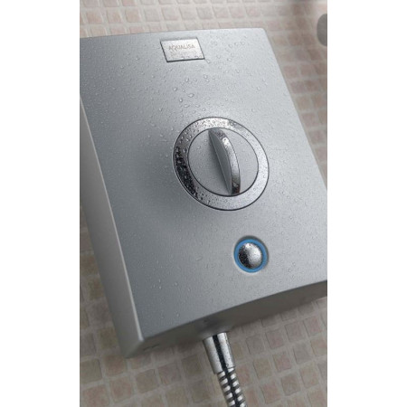 Aqualisa Quartz Electric Shower 10.5KW Chrome STY QZE10501