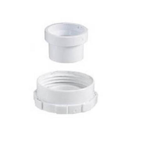 Aqualisa shower spares, White outlet assembly kit 073220