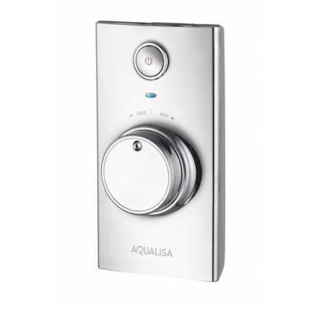 Aqualisa Visage Concealed Digital Shower with Fixed Head - HP/Combi