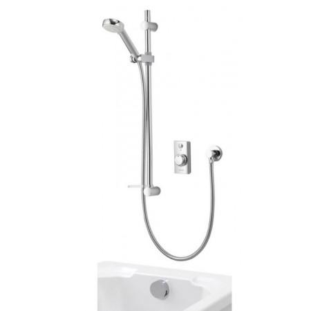 Aqualisa Visage Digital Divert Concealed shower with Bath Fill and adjustable head Combi/high pressure