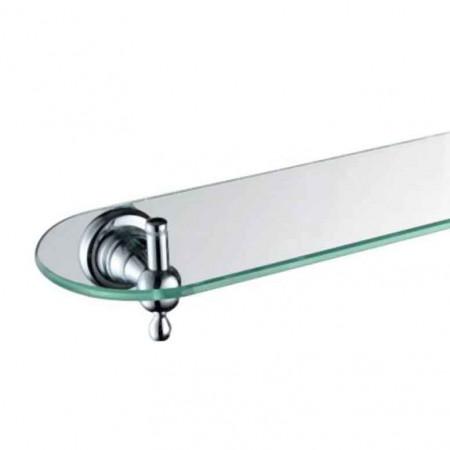 Bristan 1901 550mm Chrome and Glass Shelf