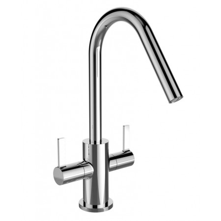 Bristan Cashew Easy fit Twin Lever Sink Mixer