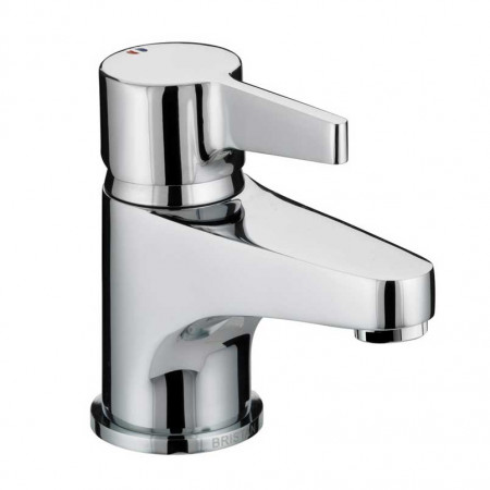 Bristan Design Utility Lever Basin Mixer with Clicker Waste, Chrome Plated