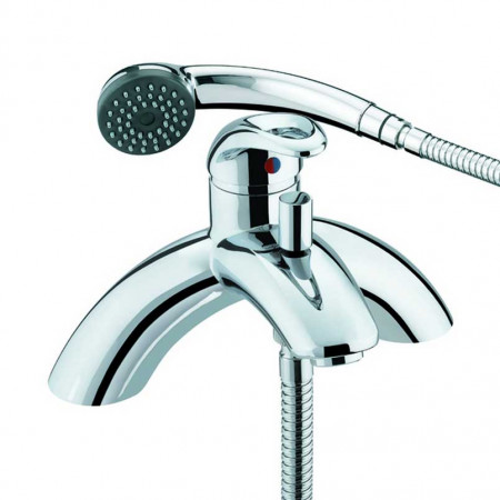 Bristan Java Single Lever Pillar Bath Shower Mixer