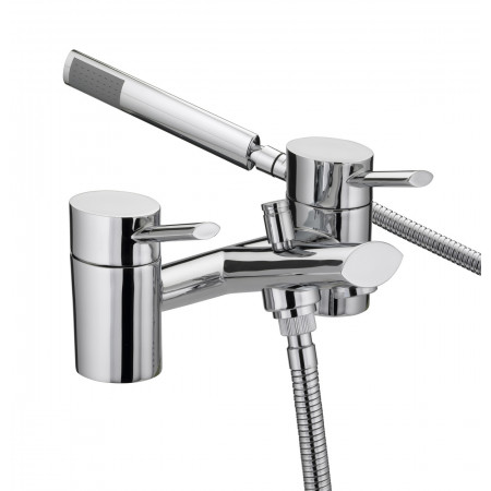 Bristan Oval Bath & Shower Mixer Chrome
