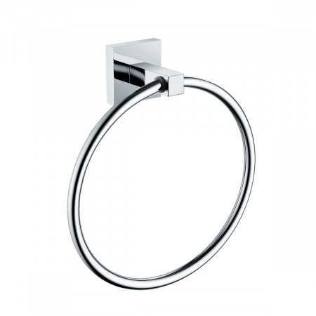 Bristan Square Chrome Towel Ring