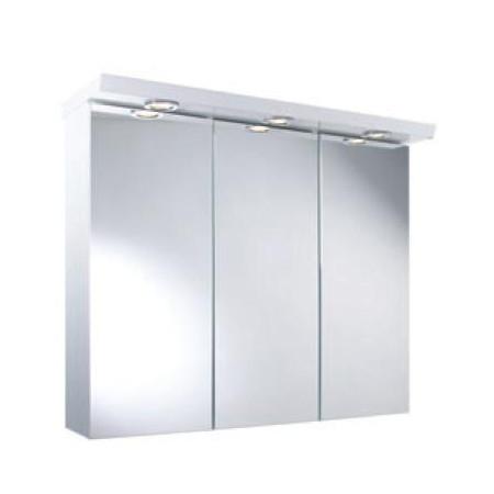 Croydex Alaska Three Door Illuminated Bathroom Cabinet WC115622E