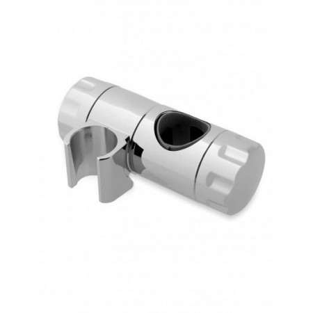 Double Locking Shower Rail Clamp In Chrome 25mm