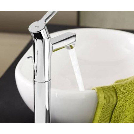 Grohe Lineare small Basin mixer Including Pop up Waste 32109000
