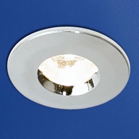 HIB Chrome Fire Rated Showerlight 5650