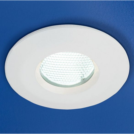 HIB White Low Energy Fire Rated Showerlight 5720